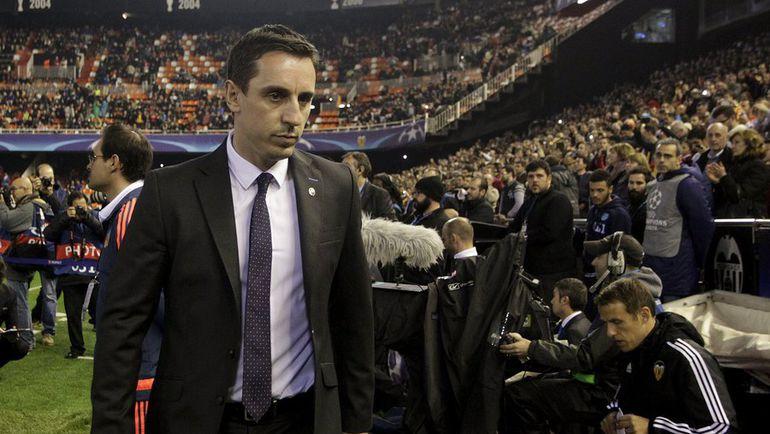 """Валенсия"" под руководством Гари НЕВИЛЛА еще не побеждала. Фото Reuters"