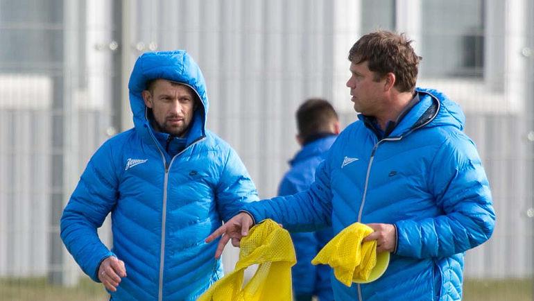 Сергей СЕМАК и Владислав РАДИМОВ. Фото Кристина КОРОВНИКОВА