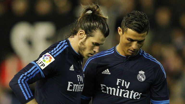 """Воскресенье. Валенсия. """"Валенсия"""" – """"Реал"""" – 2:2. Гарет БЭЙЛ и КРИШТИАНУ РОНАЛДУ. Фото AFP"""