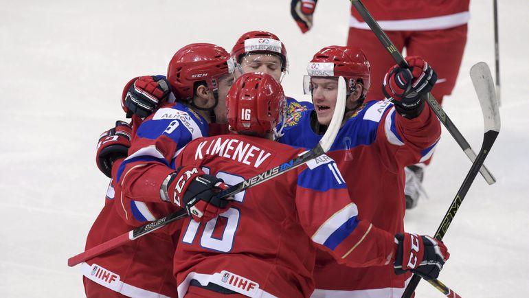 Звено Владислава КАМЕНЕВА. Фото Reuters