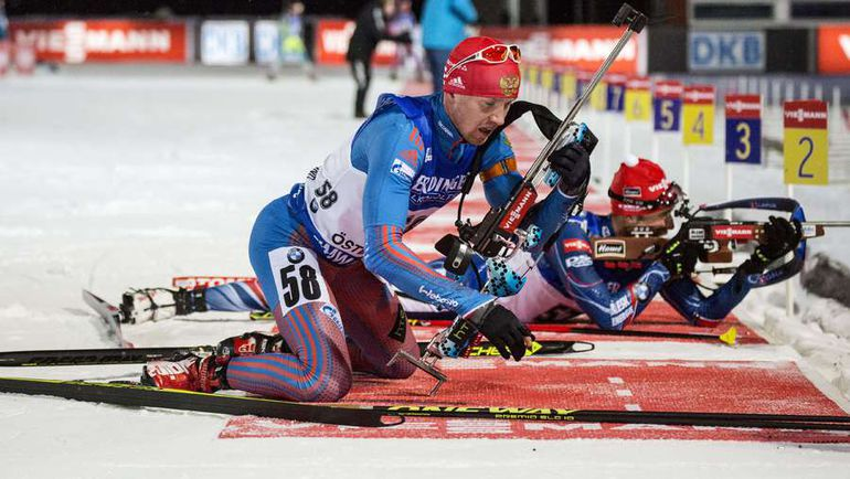 Алексей ВОЛКОВ - бронзовый призер индивидуальной гонки в декабрьском Эстерсунде. Фото AFP