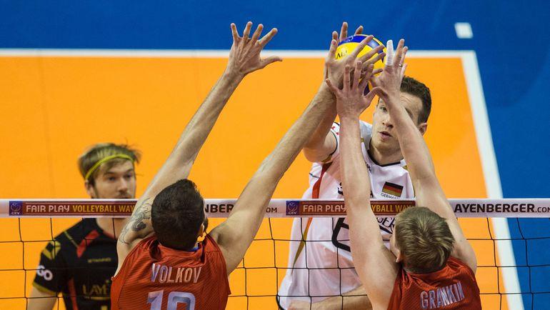 В полуфинале европейской квалификации в Берлине россияне остановили Германию, которая в итоге осталась в двух очках от Рио. Фото AFP