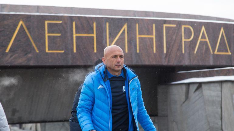 """Лучано СПАЛЛЕТТИ в """"Зените"""". Фото ФК """"Зенит"""""""