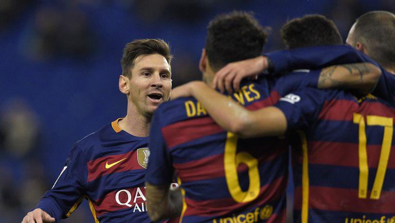 """Среда. Барселона. """"Эспаньол"""" – """"Барселона"""" – 0:2. Лионель МЕССИ."""