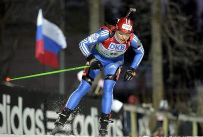 Россия - первая в эстафете! Фото «СЭ»