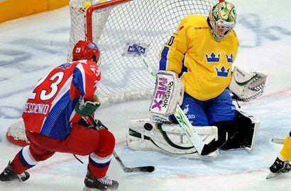 На старте Кубка Первого канала  Россия обыграла шведов Фото «СЭ»