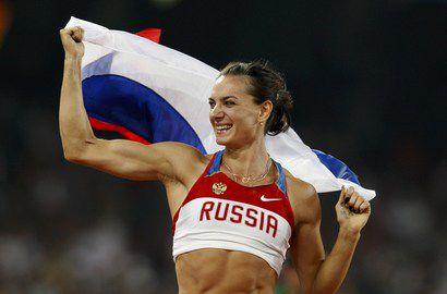 Елена Исинбаева признана лучшей легкоатлеткой десятилетия Фото «СЭ»