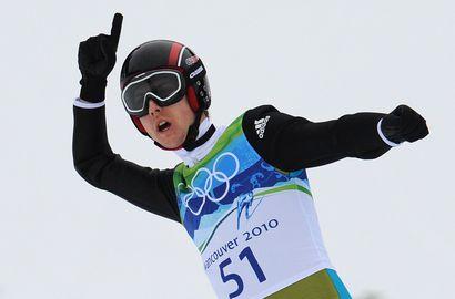 Сегодня. Первый чемпион XXI Олимпийских зимних Игр Симон АММАНН. Фото AFP
