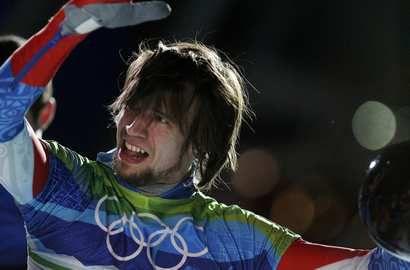 Бронзовый призер Олимпиады-2010 Александр ТРЕТЬЯКОВ. Фото AFP