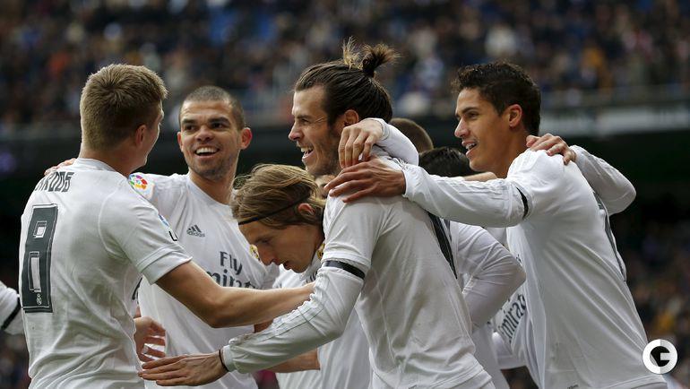 """Воскресенье. Мадрид. """"Реал"""" – """"Спортинг"""" Х – 5:1."""