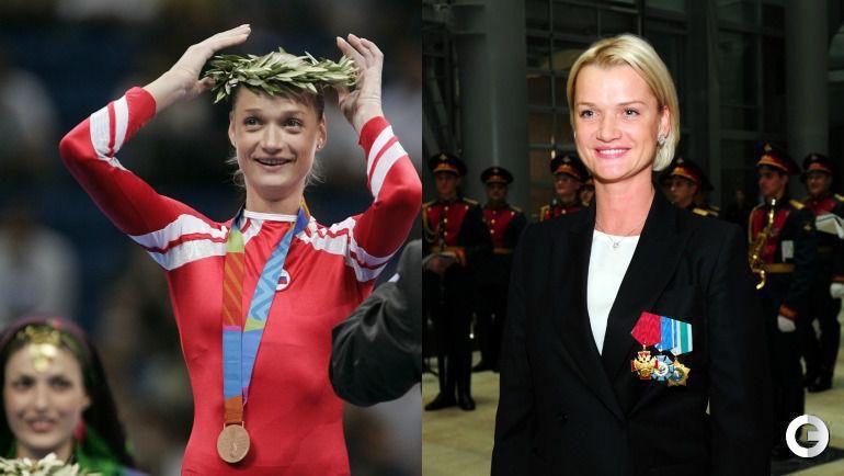 Светлана ХОРКИНА, спортивная гимнастика.