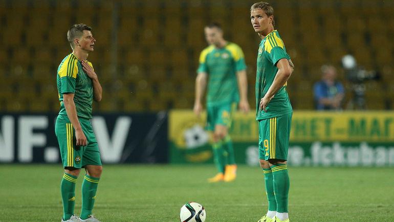 Андрей АРШАВИН (слева) и Роман ПАВЛЮЧЕНКО. Фото Виталий ТИМКИВ