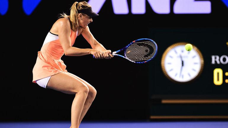 Мария ШАРАПОВА не испытала проблем во втором круге Открытого чемпионата Австралии. Фото Сайт Australian Open