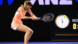 Мария ШАРАПОВА не испытала проблем во втором круге Открытого чемпионата Австралии.