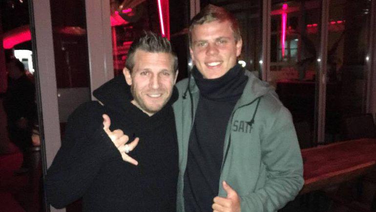 Андрей ВОРОНИН (слева) и Александр КОКОРИН в немецком Дюссельдорфе. Фото instagram.com/voroninandrey