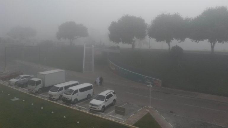 """Утро туманное... Фото Сергей ЦИММЕРМАН, """"СЭ"""""""