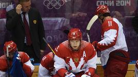 По мнению Майка Бэбкока, для сборной России на Кубке мира важно сколотить из Александра ОВЕЧКИНА, Евгения МАЛКИНА (№ 11) и других наших звезд настоящую команду.