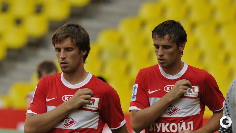 """2011 год. Кирилл и Дмитрий Комбаровы в """"Спартаке""""."""