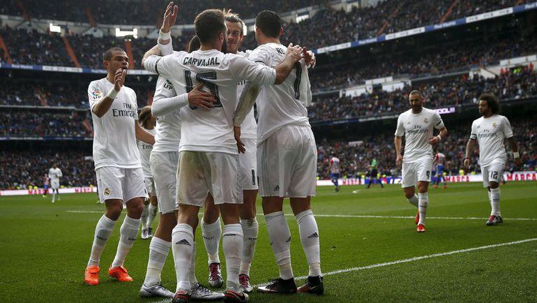 """""""Реал"""" в двух первых матчах Зинедина Зидана забивал по пять голов. Фото REUTERS"""