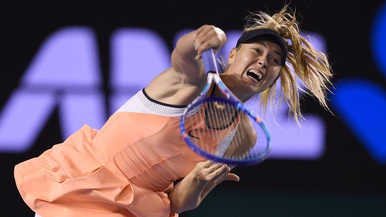 Пятница. Мельбурн. Через несколько минут Мария ШАРАПОВА одержит свою 600-ю победу в карьере. Фото AFP