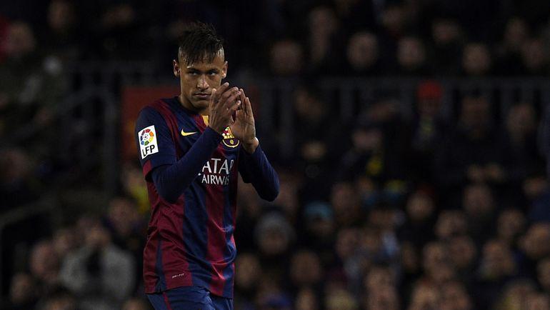 """Если НЕЙМАР сменит """"Барселону"""" на """"Реал"""", то """"Ноу Камп"""" его проклянет. Фото AFP"""