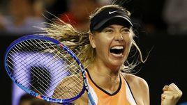Воскресенье. Мельбурн. Мария ШАРАПОВА празднует победу над Белиндой Бенчич.