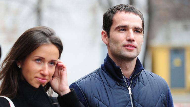 Роман ШИРОКОВ с женой. Фото Федор УСПЕНСКИЙ, «СЭ»