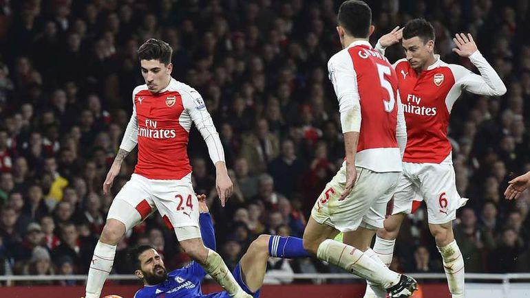 """Воскресенье. Лондон. """"Арсенал"""" – """"Челси"""" – 0:1. Фото AFP"""