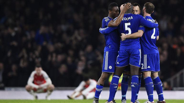 """Воскресенье. Лондон. """"Арсенал"""" - """"Челси"""" - 0:1."""