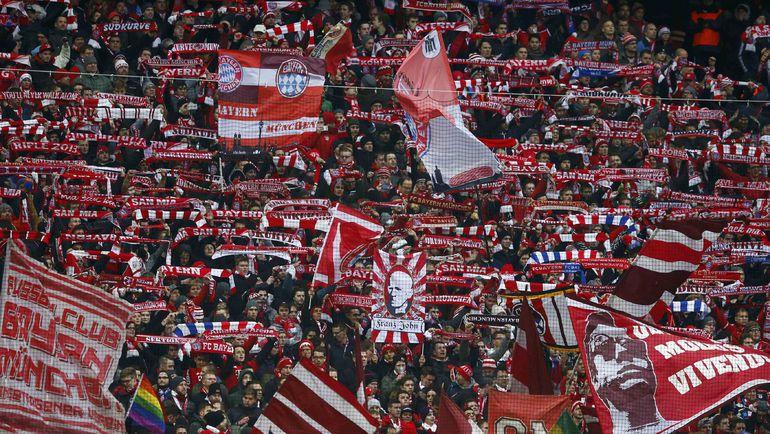 """Трибуны """"Алльянц-Арены"""" в Мюнхене. Фото Reuters"""