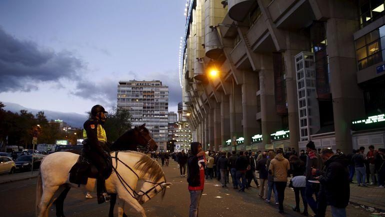"Стадион ""Сантьяго Бернабеу"". Фото Reuters"