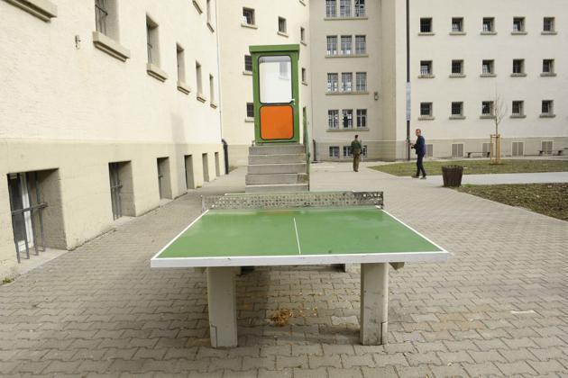 Тюрьма баварского города Ландсберг-на-Лехе.