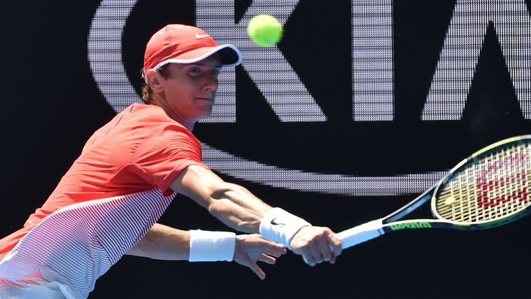 Выступление Андрея КУЗНЕЦОВА на Australian Open вызвало у российских болельщиков и специалистов исключительно положительные эмоции. Фото AFP