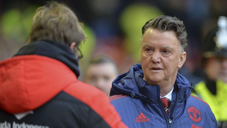 """Воскресенье. Ливерпуль. """"Ливерпуль"""" – """"Манчестер Юнайтед"""" - 0:1. Луи ВАН ГАЛ. Фото AFP"""