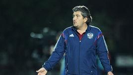 Спортивный директор РФС и главный тренер молодежной сборной России Николай ПИСАРЕВ.