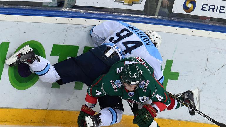 """""""Сибирь"""" и """"Ак Барс"""" могут снова выдать одну из самых напряженных серий плей-офф. Фото photo.khl.ru"""