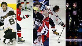 Александр ОВЕЧКИН на 5 Матчах звезд НХЛ - в Далласе-2007, Атланте-2008, Монреале-2009, Роли-2011 и Коламбусе-2015.