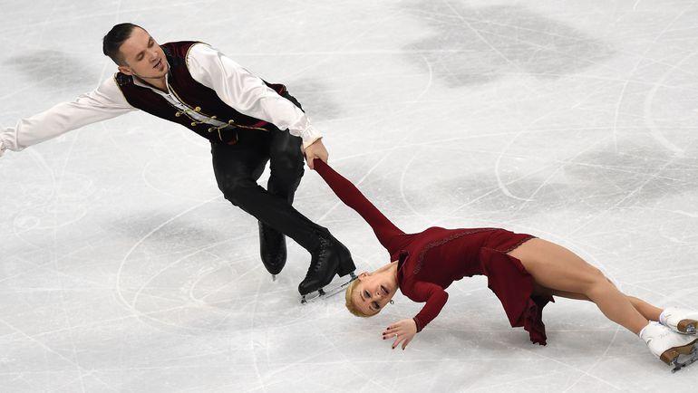 Сегодня. Словакия. Максим ТРАНЬКОВ и Татьяна ВОЛОСОЖАР. Фото Reuters