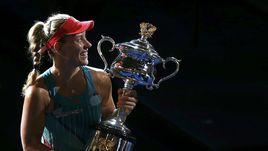 Ангелик Кербер выиграла Australian Open