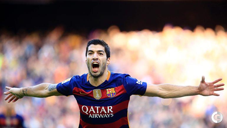 "Сегодня. Барселона. ""Барселона"" – ""Атлетико"" – 2:1 (2:1). Луис СУАРЕС."