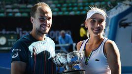 Веснина выиграла микст на Australian Open