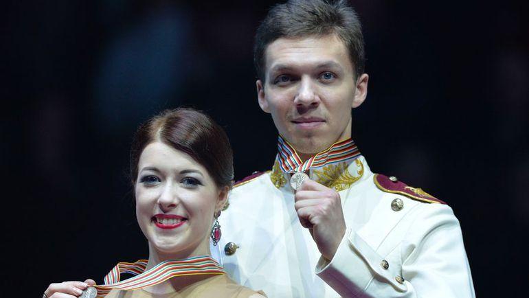 Суббота. Братислава. Екатерина БОБРОВА и Дмитрий СОЛОВЬЕВ. Фото AFP