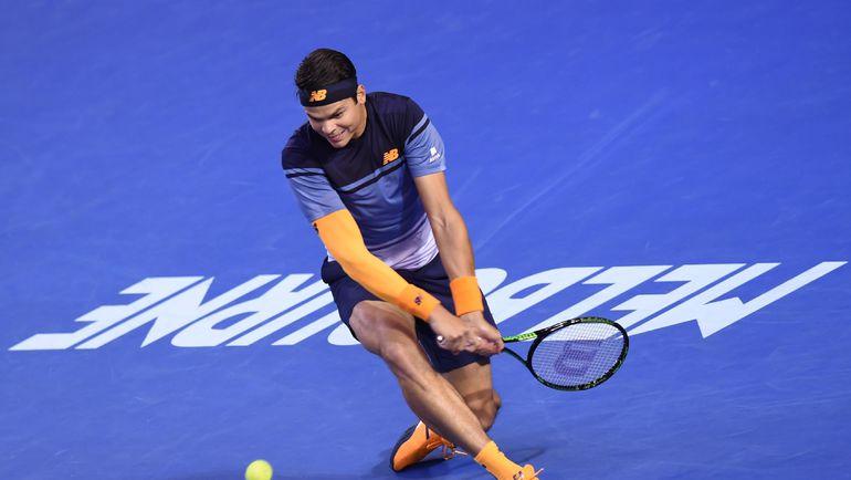 Милош РАОНИЧ провел один из лучших турниров в карьере. Фото AFP
