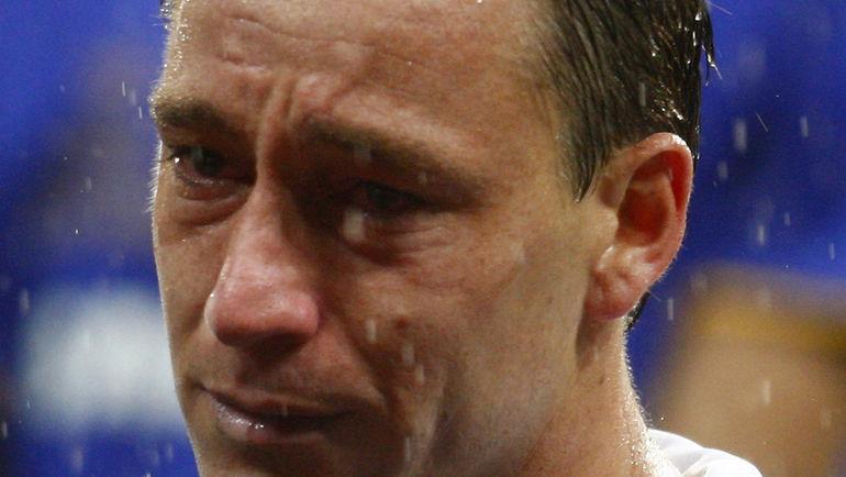 Слезы Джона ТЕРРИ после московского финала Лиги чемпионов-2008. Фото REUTERS