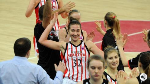 Девушки из Видного в четвертьфинале Кубка Европы