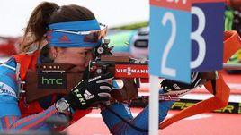 Дарья ВИРОЛАЙНЕН - лучшая из россиянок в спринте в Кэнморе.