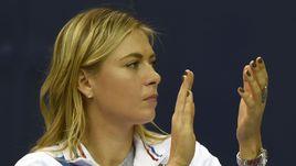 Мария ШАРАПОВА увидела поражение сборной России из первого ряда.