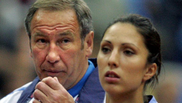 Шамиль ТАРПИЩЕВ и Анастасия МЫСКИНА. Фото AFP
