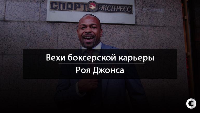 Карьера Роя ДЖОНСА.