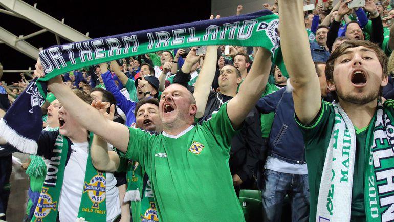 Для североирландцев выход на Euro - грандиозное событие. Фото AFP